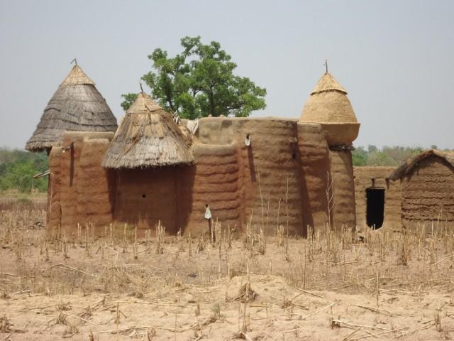 Zdjęcia: Koutammakou, Region Kara, Tradycyjne domy, TOGO