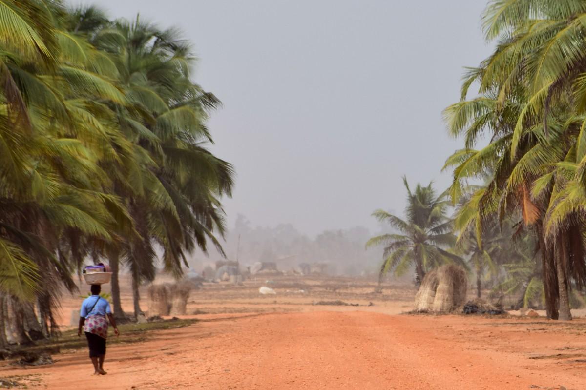 Zdjęcia: Aneho, Togo południowe, W drodze, TOGO