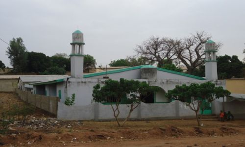 TOGO / Region Kara / Kante / Typowy meczet