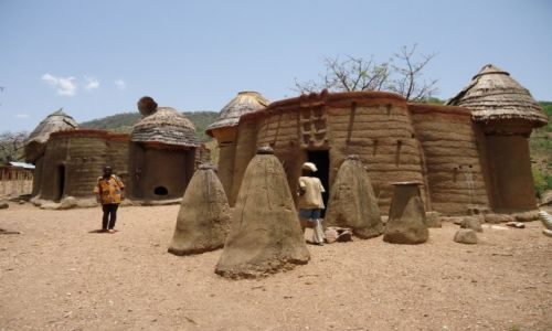 Zdjęcie TOGO / Region Kara / Koutammakou / W tradycyjnej wiosce