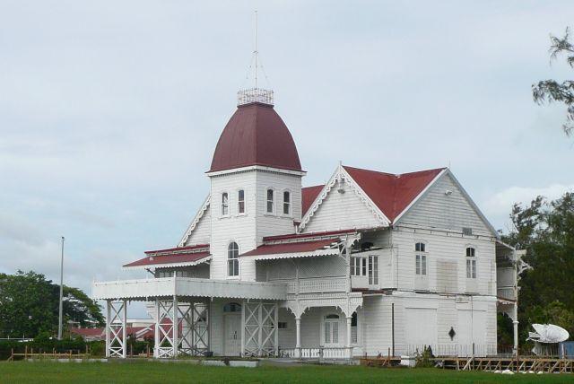 Zdjęcia: Nuku'alofa, Tongatapu, Pałac Królowej Matki, TONGA