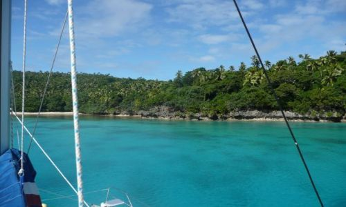 Zdjęcie TONGA / Vava'u / Pacific / Podejście do Port Maurelle