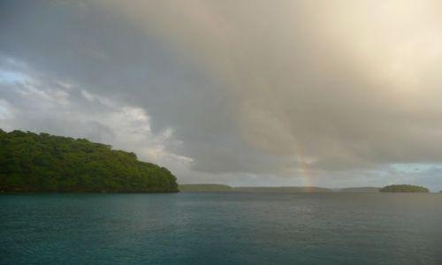 Zdjęcie TONGA / Vava'u / Pacific / szkwał deszczowy