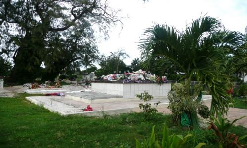 Zdjęcie TONGA / Tongatapu / Nuku'alofa / Pomniki koło domu