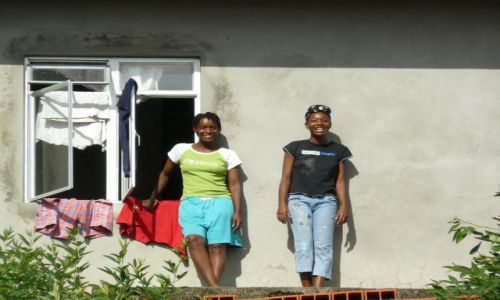 Zdjęcie TRYNIDAD I TOBAGO / tobago / kolo englishman bay / Dziewczeta z Tobago