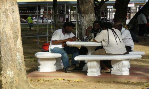 Zdjęcie TRYNIDAD I TOBAGO / trinidad / port of spain / park miejski