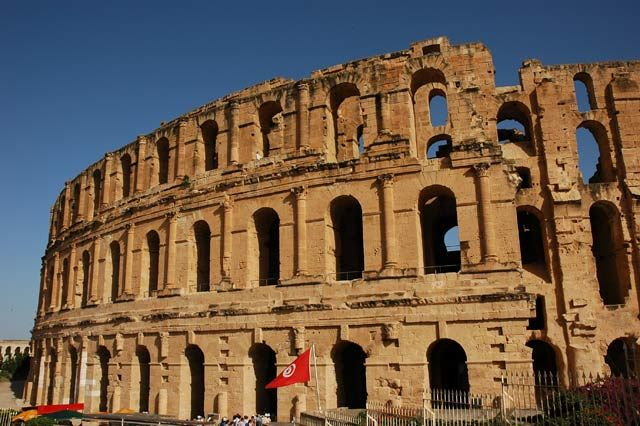 Zdjęcia: El Jem , El Jem , Koloseum, TUNEZJA