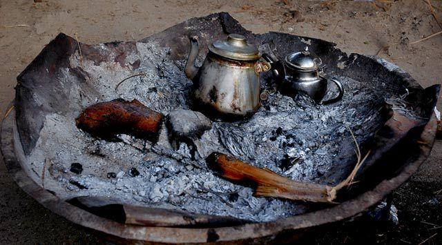 Zdjęcia: oaza na Saharze, Sahara, Zaproszenie na herbatkę, TUNEZJA