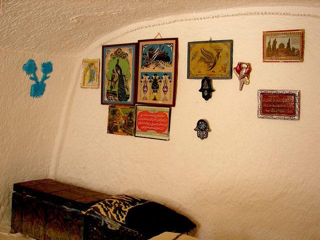 Zdjęcia: w domu Berberów, Sahara, ...., TUNEZJA
