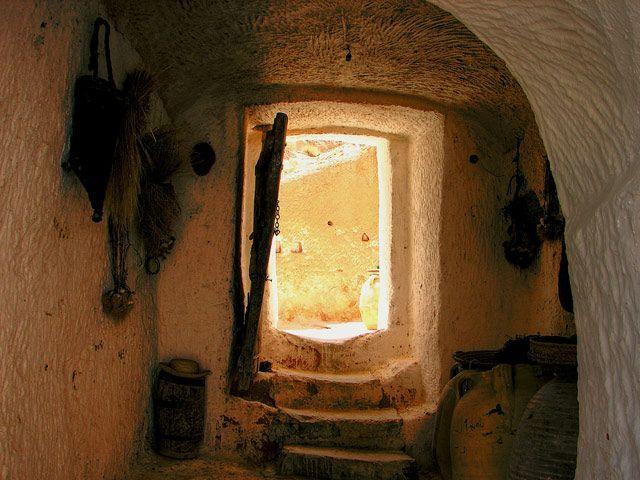 Zdj�cia: w domu Berberow, Sahara, ..., TUNEZJA