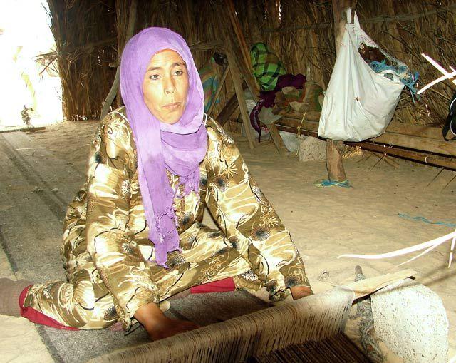 Zdj�cia: wioska Nomad�w , Sahara, ..., TUNEZJA