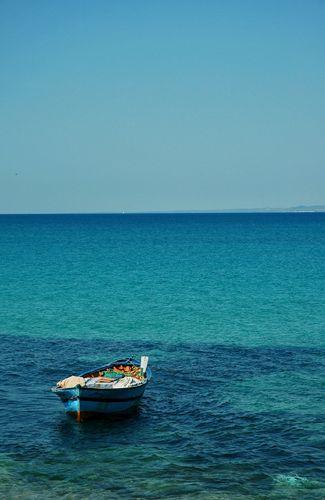 Zdjęcia: Hammamet, w błekicie ..., TUNEZJA