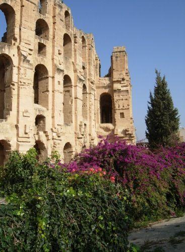 Zdjęcia: EL JAM, SAHEL, Pozostałości po Rzymskim Amfiteatrze, TUNEZJA