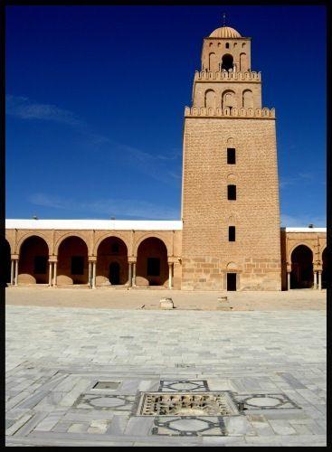 Zdj�cia: Kairuan, Sahel, �wite Miasto - Wielki Meczet , TUNEZJA