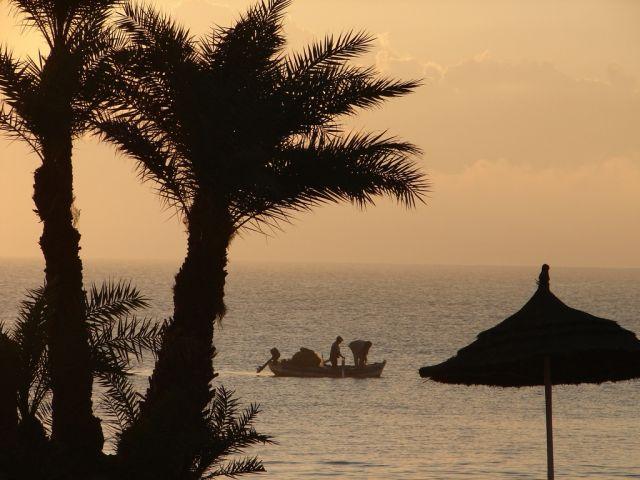 Zdjęcia: Djerba, Wyspa Djerba, wschód na Djerbie 1, TUNEZJA