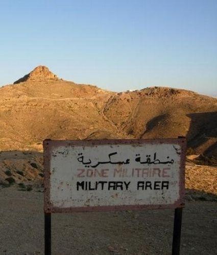 Zdj�cia: MATMATA, GABES, Military Area, TUNEZJA