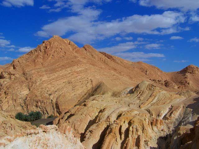 Zdjęcia: Pustynna oaza, Chebika, Trochę dzikiej Tunezji1, TUNEZJA