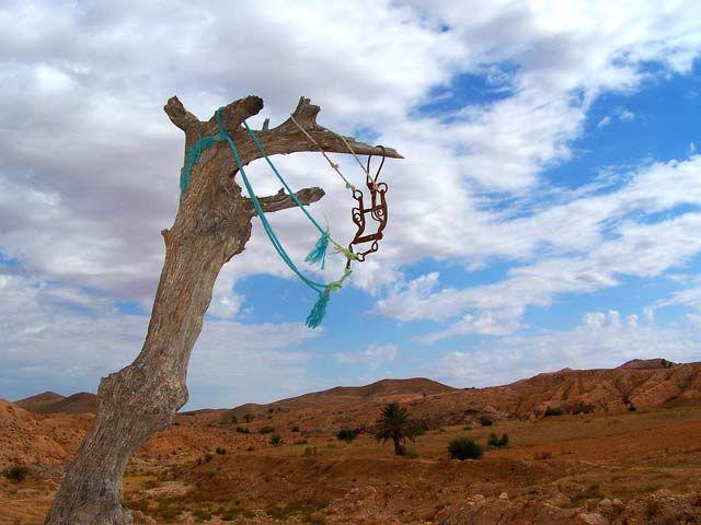 Zdjęcia: To, czego nie widać na tym zdjęciu, to wiatr..., Matmata, Trochę dzikiej Tunezji4, TUNEZJA