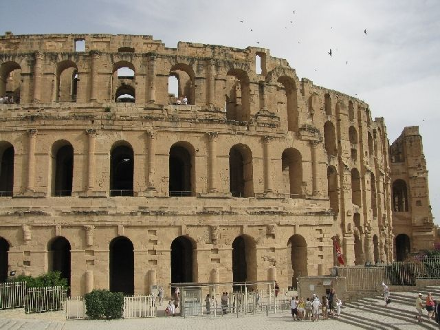 Zdjęcia: El-Jam, amfiteatr, TUNEZJA