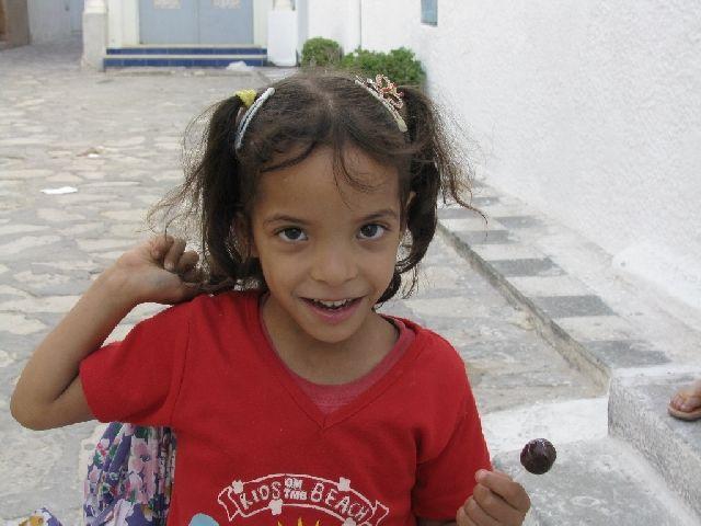 Zdjęcia: Mahdia, dzieci z mediny, TUNEZJA