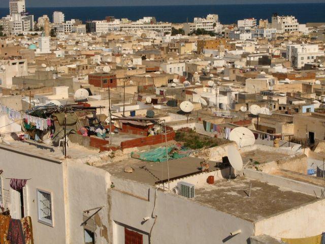 Zdj�cia: Sousse, Sousse widok z muzuem archeologicznego, TUNEZJA