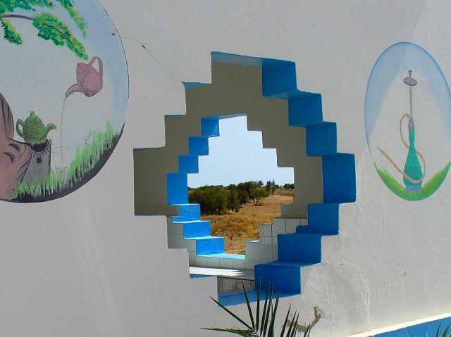 Zdjęcia: płd Tunezja, Przydrożny bar, TUNEZJA