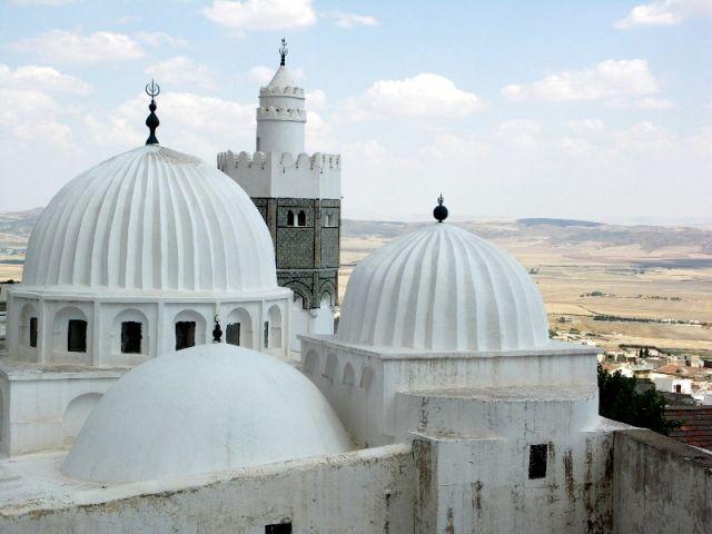 Zdjęcia: Le Kef, Tunezja środkowa, Zawija, TUNEZJA