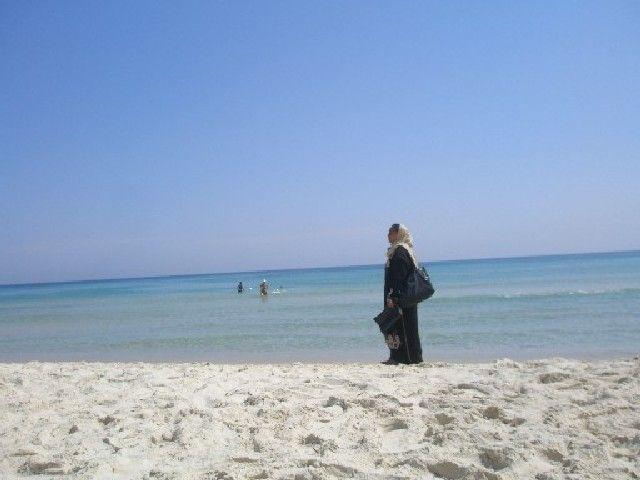 Zdjęcia: Sousse, Plaza , Tunezyjka , TUNEZJA
