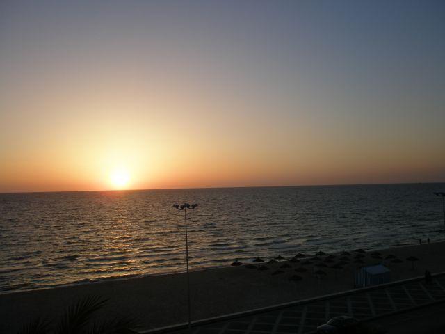 Zdjęcia: Morze Śródziemne, Wschód słońca, TUNEZJA