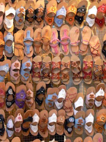 Zdjęcia: Hammamet, Sklep z butami, TUNEZJA