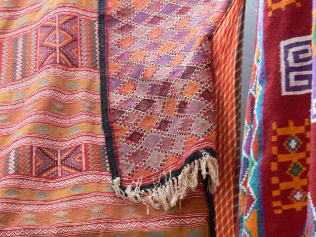 Zdjęcia: Hammamet, Dywany ciag dalszy, TUNEZJA