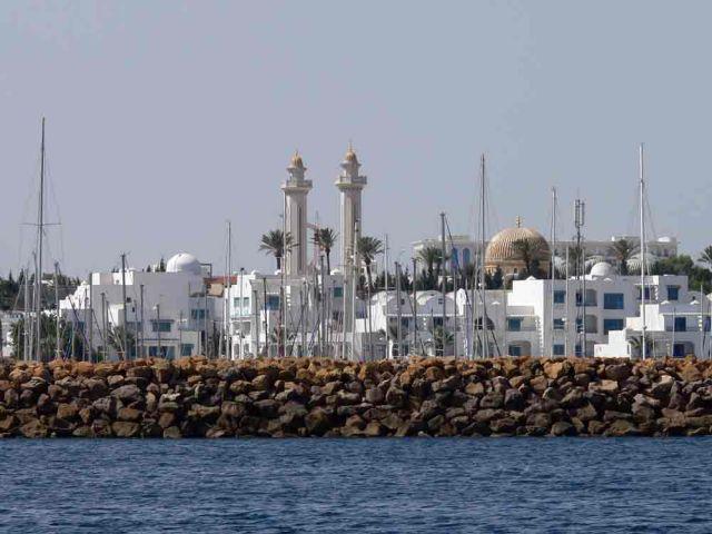 Zdjęcia: Monastir, Widok na port el-kantawi, TUNEZJA