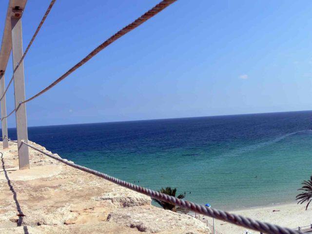 Zdjęcia: Monastir, Widok na zatoczke przy porcie el-kantawi, TUNEZJA