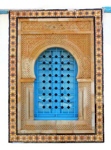 Zdjęcia: Trochę dizajnu Tunezji - OKNO, TUNEZJA