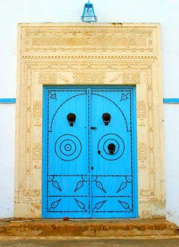Zdjęcia: Trochę dizajnu Tunezji - DRZWI, TUNEZJA
