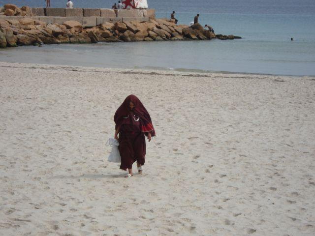 Zdjęcia: plaża, souse, dama, TUNEZJA