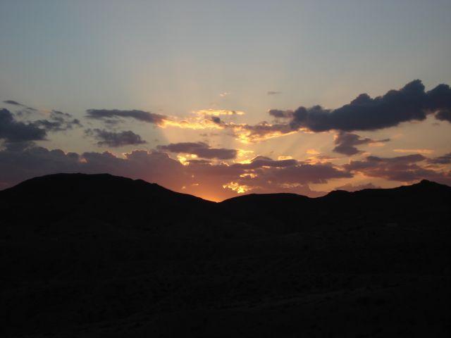 Zdjęcia: wzgórze, matmata, zachód słońca, TUNEZJA