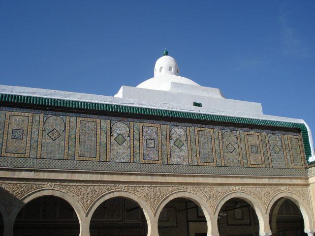 Zdj�cia: meczet fryzjera, kairuan, meczet, TUNEZJA