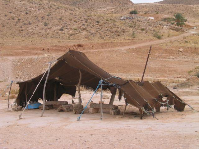 Zdjęcia: Matmata, namiot Nomadów, TUNEZJA