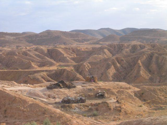 Zdj�cia: Matmata, domy Nomad�w, TUNEZJA