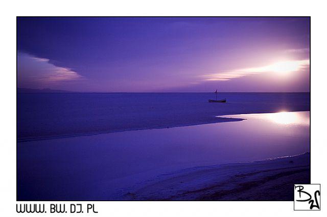 Zdjęcia: Tunezja Południowa, Tunezja, SŁONE JEZIORO, TUNEZJA