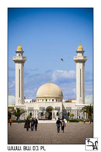 Zdjęcia: MONASTIR, MONASTIR, Meczet Burgiby, TUNEZJA
