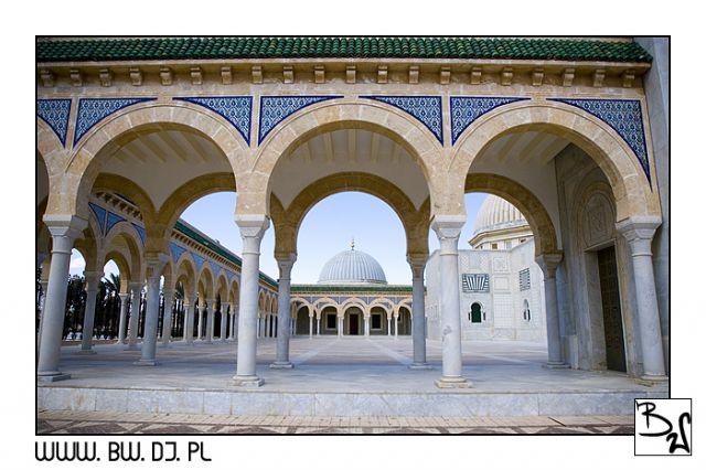 Zdjęcia: MONASTIR, MONASTIR, Meczet Burgiby 3, TUNEZJA