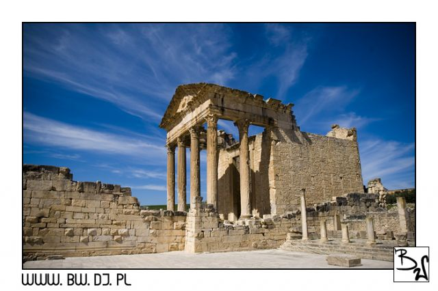 Zdjęcia: Dugga, Środkowa część Tunezji - Dugga, Dugga, TUNEZJA