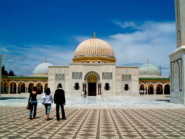 Zdjęcia: Mauzoleum Habiba Bourguiby, Monastir, Mauzoleum, TUNEZJA