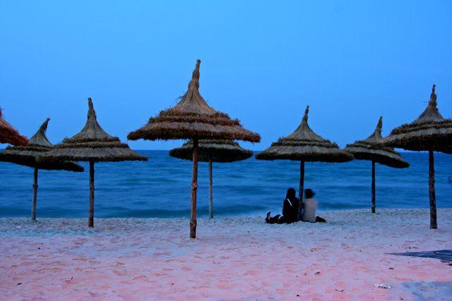 Zdjęcia: Morze Śródziemne, Susse, Wieczór, TUNEZJA
