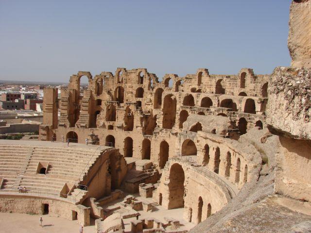 Zdjęcia: Tunezja, Tunezja, amfiteatr El Jem, TUNEZJA