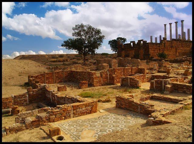 Zdjęcia: Thuburbo Majus, Starożytna Tunezja 3, TUNEZJA