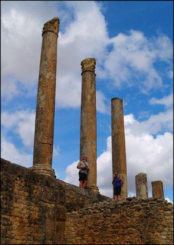 Zdjęcia: Dougga, Starożytna Tunezja 4, TUNEZJA