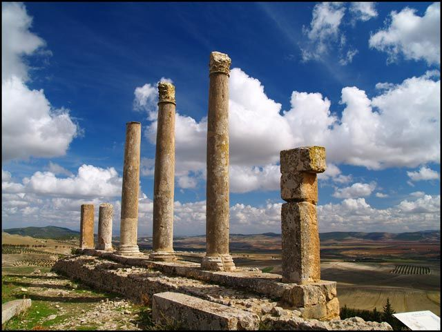 Zdjęcia: Dougga, Starożytna Tunezja 5, TUNEZJA